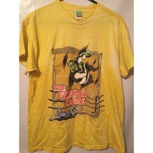 2001 Shrek The Flying Ogre Shirt Size Adult Small